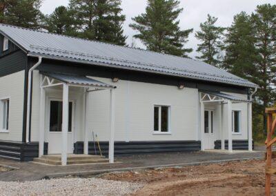 Поставка и установка блочной модульной лыжной базы по адресу: Култаевское сельское поселение, д. Шилово
